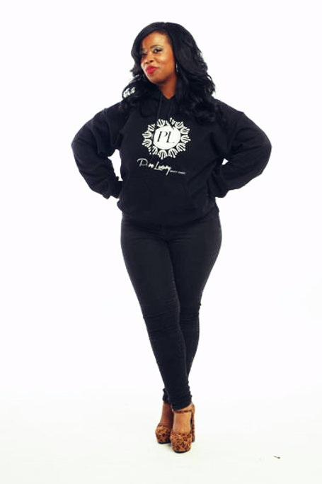 SIGNATURE  LOGO (BLACK) SWEAT HOODIE