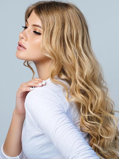 Shadow Root Honey Blonde De Lux Hair Topper