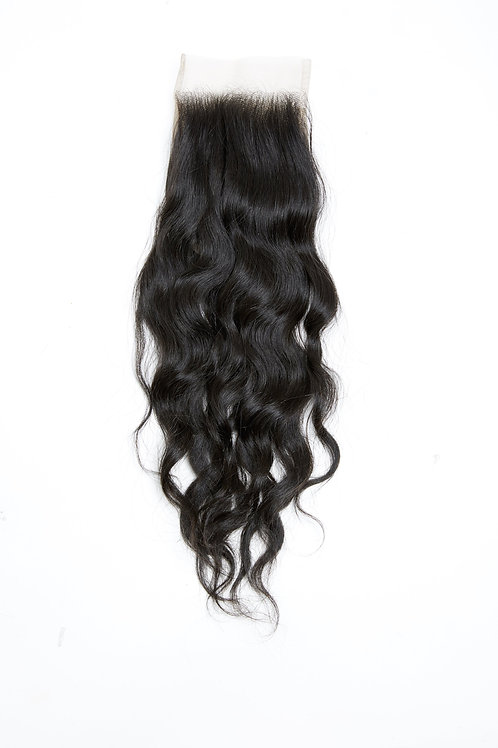 Aqua Lux Loose Wavy Lace Closure