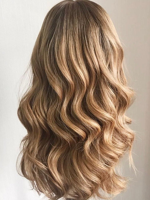 Honey Gold Hair Topper