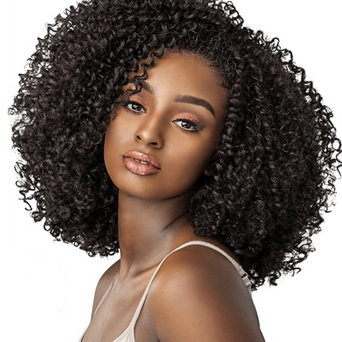 Pink Lux Bohemian Kinky Curly Brazilian Hair Extensions