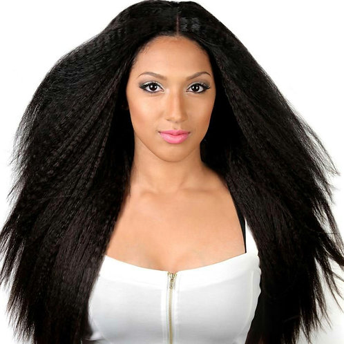 Aqua Lux Kinky Straight Hair Extension