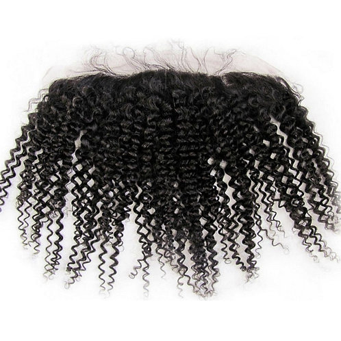 Pure Lux Bohemian Kinky Curly  Lace Frontal