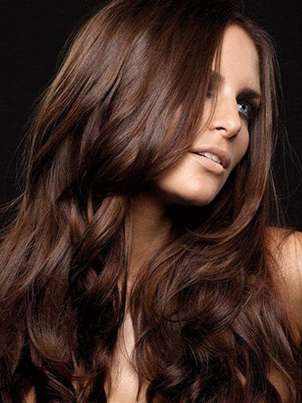 Lux Remy Handtied Straight  | Machine Weft Hair Sexy Auburn #99J