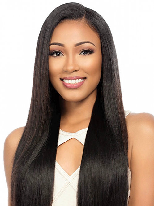 Pink Lux Relax Straight Brazilian Hair Extensions