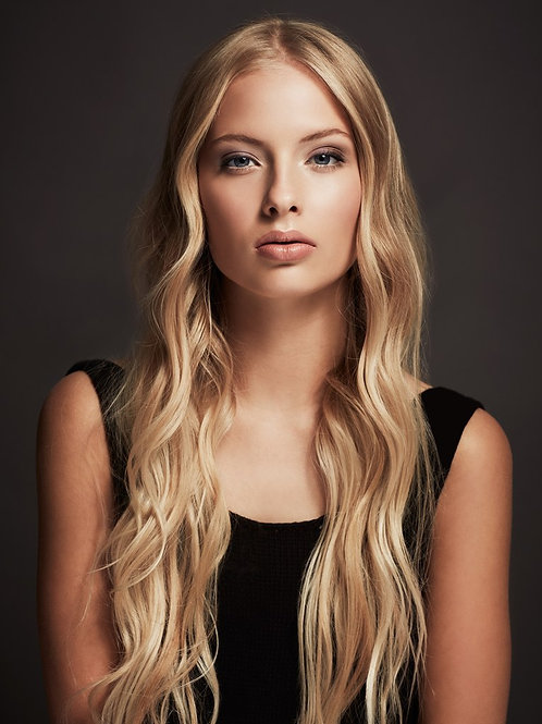 "Euro Lux Remy Handtied Hair Extensions ""Gold Rush"" #27"