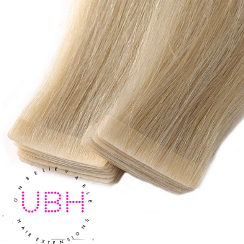 Blondie Tape Hair Extensions #613