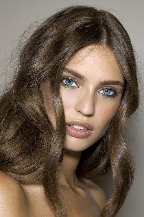Clip In Hair Extensions Mushroom Brown #6