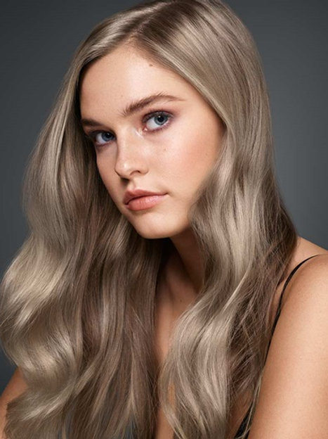 Keratin Hair Extensions Ash Blonde #18 Itip Strands