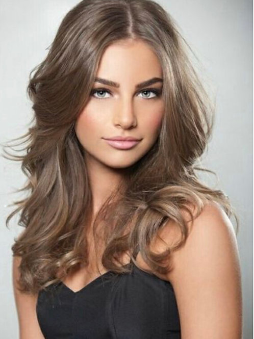 Euro Lux Remy Handtied Hair Extensions Mushroom Brown #10 A