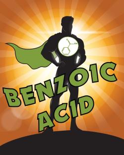 Meet Benzoic Acid: SUPERHERO