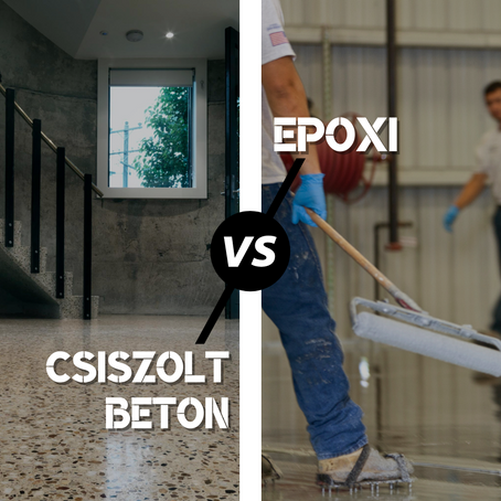 9 tény, amiért a Csiszolt Betont jobban szeretjük, mint az Epoxit.