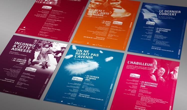 Théâtre le Caveau | affiches de saisons