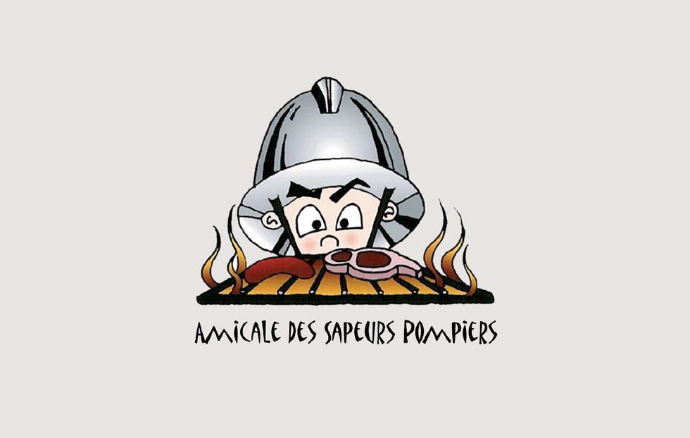 Amicale des sapeurs pompiers de Puplinge     Logo