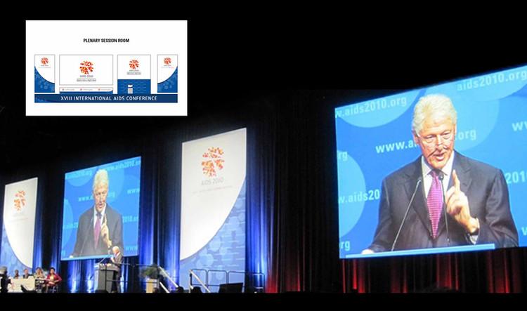 International AIDS Society  |  signalétique de conférences