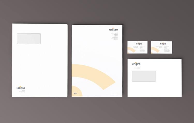 Unipro | logo + papeterie