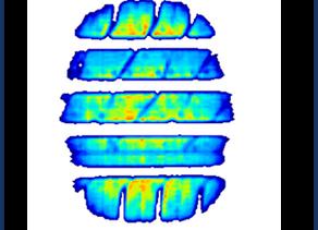 High-Speed Sensors for Tire Footprint Testing