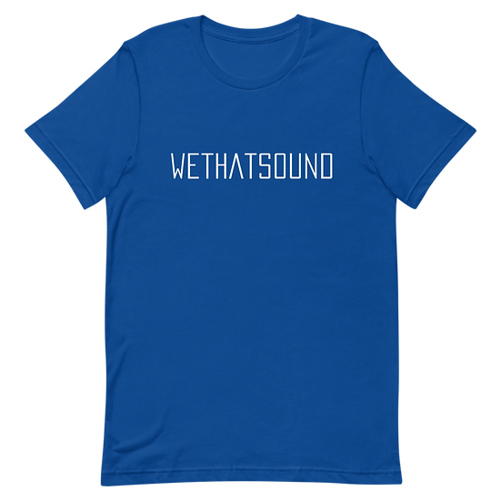 WETHATSOUND SHORT SLEEVE TEE
