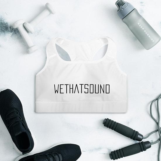 WeThatSound Sports Bra
