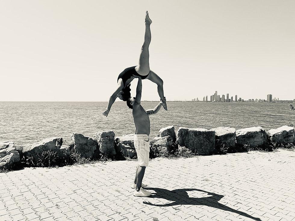 Eddy and Darlene Toronto Skyline professional dancers
