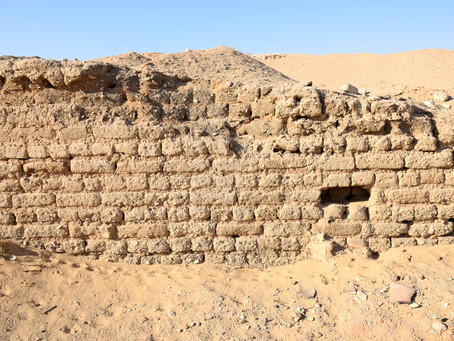 Os lares dos vivos do Egito Antigo