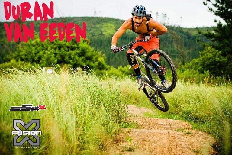 Duran Van Eeden dead rabbit bike x-fusion klein