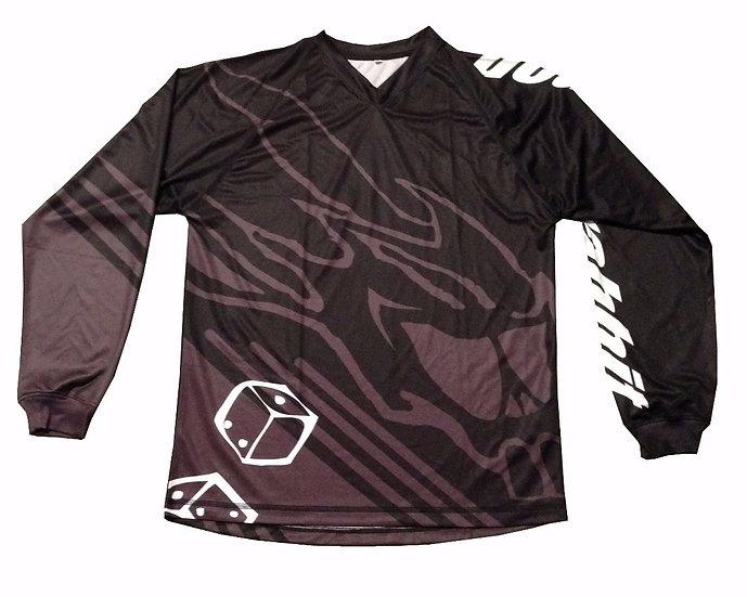 Rider Jersey black grey