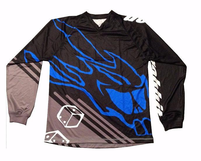 Rider Jersey black/ blue