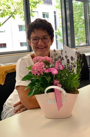 Verabschiedung Frau Inge Bayer