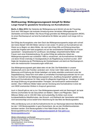 Int. Frauentag 08.03.2018