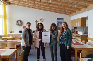 Evangelische Mutter-Kind-Kurklinik Scheidegg erhält Qualitätszeichen