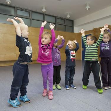 Therapieangebote auch für Kinder