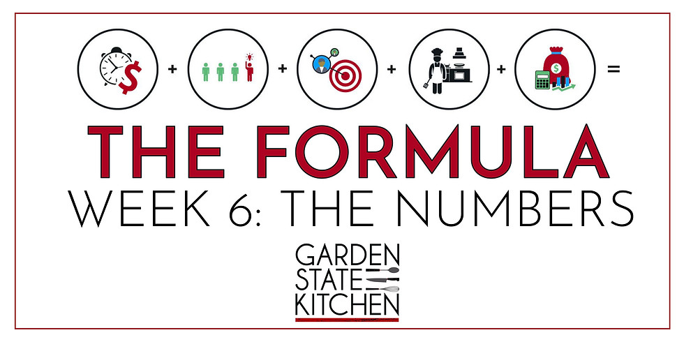 THE FORMULA: Week 6 - The Numbers