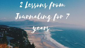 Two Lessons from Journaling that are Essential in the New Year.