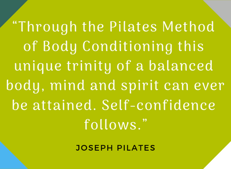 """I didn't know Pilates got it's name from a man""!"