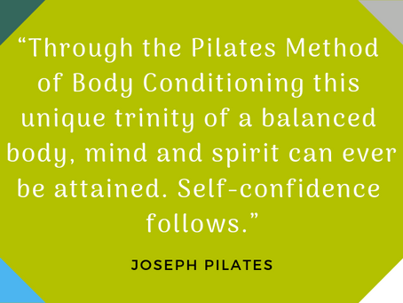 """""""I didn't know Pilates got it's name from a man""""!"""
