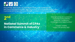 2ND NATIONAL SUMMIT of CPAs in Commerce and Industry
