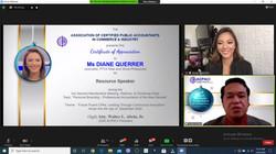 3rd General Membership Meeting, Webinar, & Christmas Party