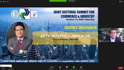 JOINT SECTORAL SUMMIT FOR COMMERCE & INDUSTRY
