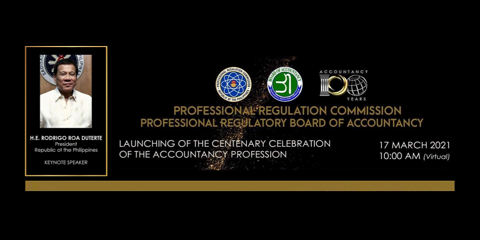 Launching of the Centenary Celebration of the Accountancy Profession