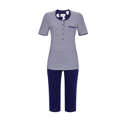 pyjama corsaire rayé