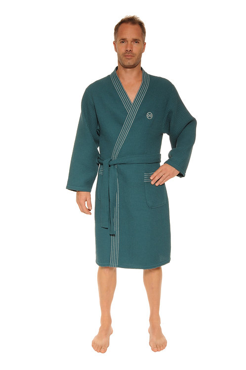 Robe de chambre / Peignoir WALTER vert tropical