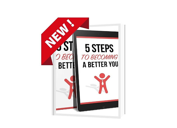 5 Steps to Become a Better You