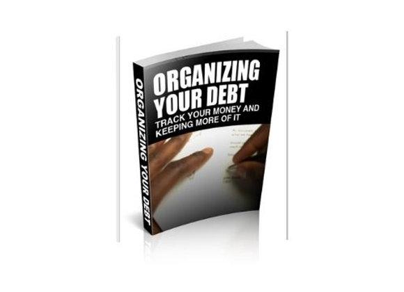 Organizing Your Debt