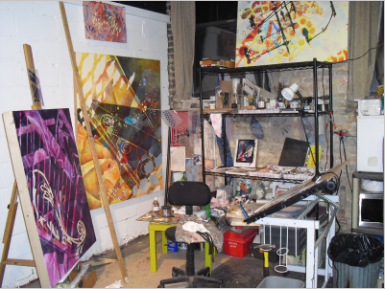Former Chicago Studio, Cornelia Arts Building