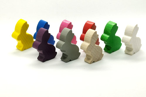 Rabbit Meeples