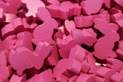 Rabbit Meeple - Pink