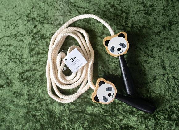 Skipping rope - panda