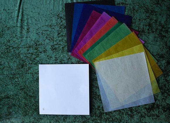 Wax Paper 22cm x 22cm