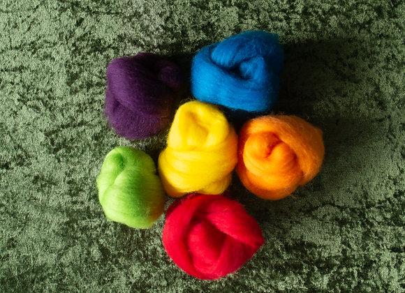 Bright Rainbow Fleece Pack